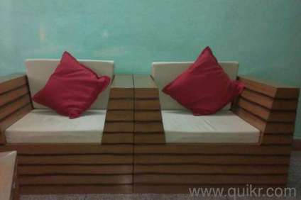 Teak Wood Sofa Set In Kharadi Pune Used Home Office Furniture On Pune Quik