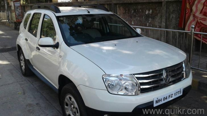 2013 singal own white colour low km renault duster good condition car for sale in goregaon west. Black Bedroom Furniture Sets. Home Design Ideas
