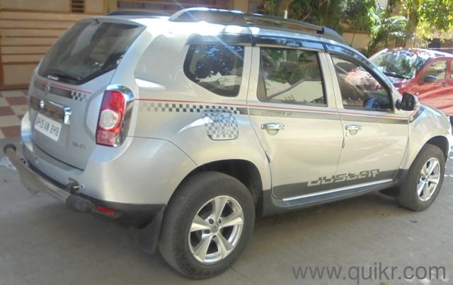 silver 2013 renault duster 32 000 kms driven car for sale in sainikpuri hyderabad used cars. Black Bedroom Furniture Sets. Home Design Ideas