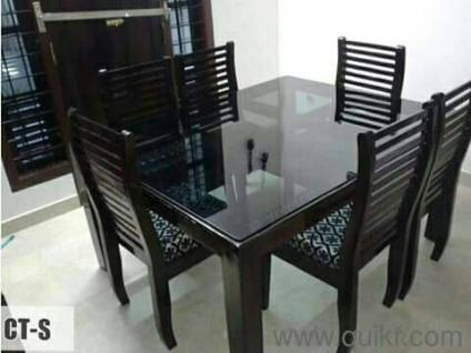 Exceptional Innovative Style Glass Top Dining Set Fresh   Brand Home   Office Furniture    Karyavattom, Trivandrum   QuikrGoods