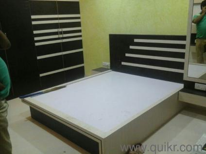New Bed bed-e new - bed set - with storage (material type - engineered