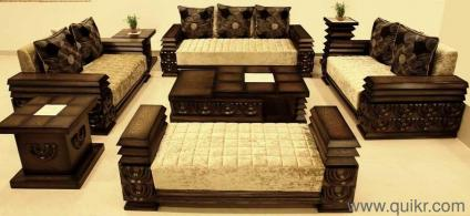 Online Selling Wooden Furniture Royal Look Sofa Set Brand New