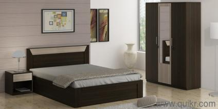 New Bed brand new - bed set - with storage (material type - engineered