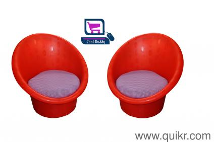 New Coolbuddy Designer Tub Chairs With Matt Finish Red, Tomato Red ...