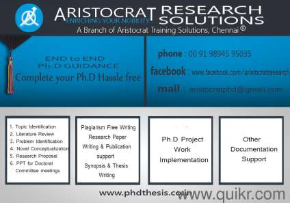 research thesis writing service
